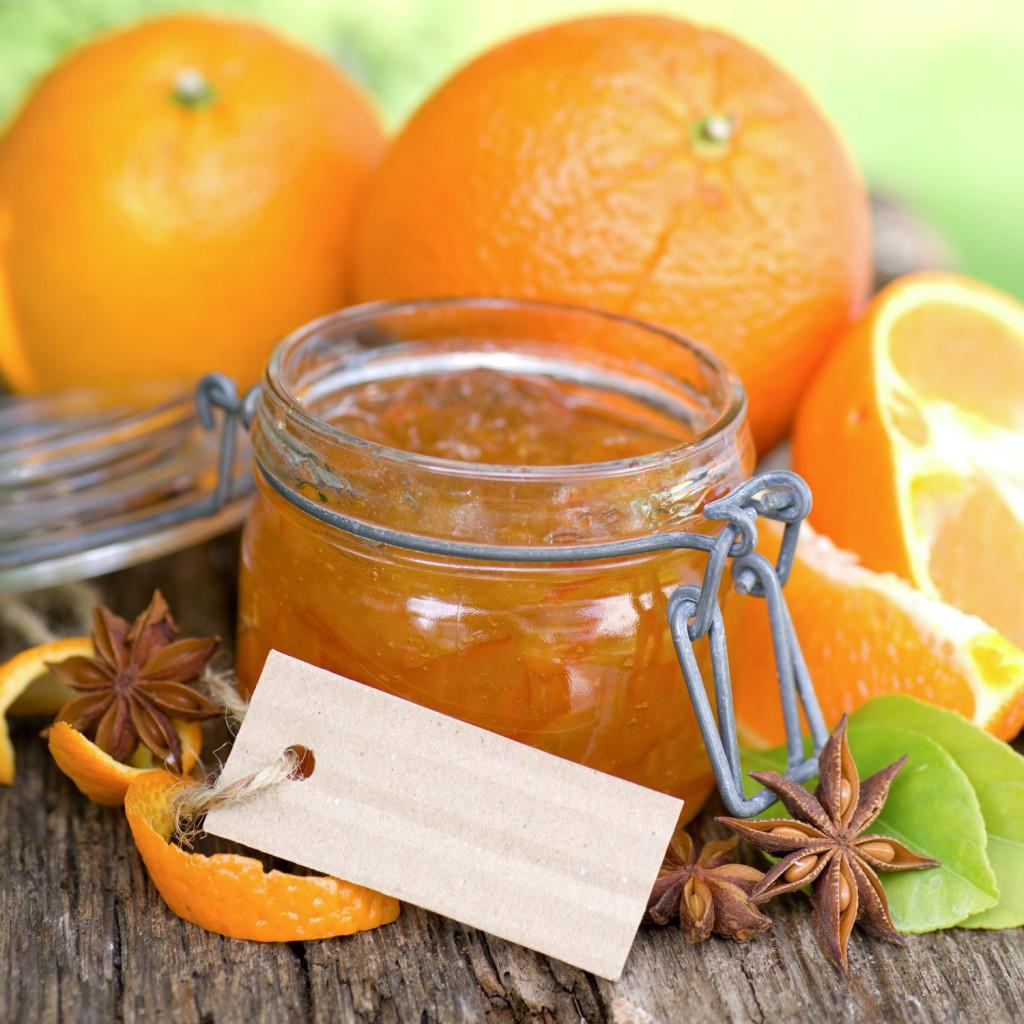 Sinaasappel-rabarberconfituur